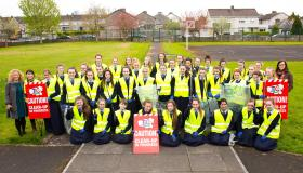 WATCH: Limerick students are first off the mark for TLC3