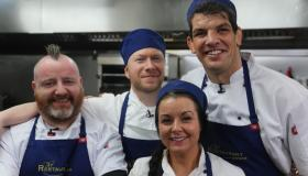 WATCH: Former Munster legend Donncha O'Callaghan tries out for The Restaurant