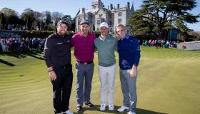 SLIDESHOW: Honours even in high profile Adare Manor charity golf exhibition