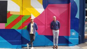 WATCH: Street artist Maser joined by Paul O'Connell to unveil new mural in Limerick