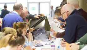 The referendum count is taking place in Limerick Racecourse this Saturday