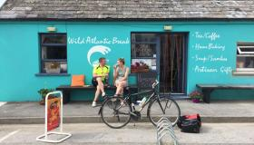 Cian McCormack is on his bike again for Morning Ireland