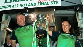 SLIDESHOW: Homecoming for All-Ireland winning Limerick Ladies Footballers