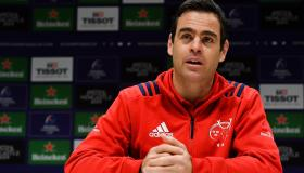 WATCH: Munster head coach Johann van Graan is expecting real test from Gloucester