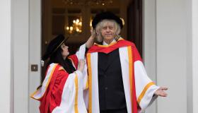 University of Limerick honours author Marian Keyes and activist Bob Geldof