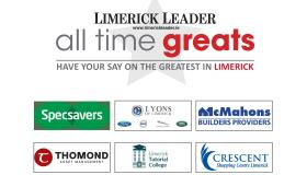 REVEALED: The final four in the search for Limerick's All Time Great