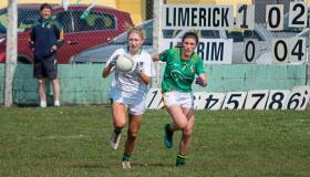 SLIDESHOW: Limerick Ladies' Footballers reach semi final with Leitrim win