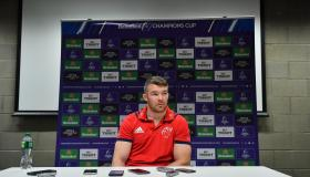 WATCH: Munster's Peter O'Mahony relishing Saracens test