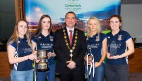 SLIDESHOW: Crescent College hockey sides honoured by Limerick Mayor