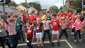 SLIDESHOW: Limerick village earns its stripes with smashing charity run