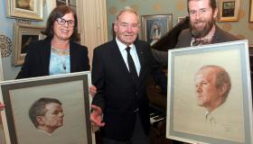 SLIDESHOW: Portrait of the artist at 90 - Thomas Ryan's Limerick homecoming