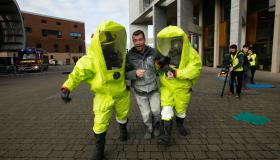 WATCH: Emergency services stage response to simulated terror attack