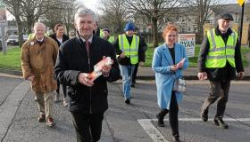 SLIDESHOW: On the canvass in Limerick city with Michael Ryan