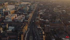 WATCH: Spectacular drone footage shows traffic-free Limerick during Covid-19 lockdown