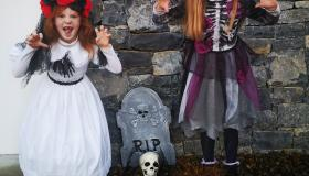 Trick or Treat! Limerick children show off their Halloween costumes