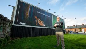 Limerick photographer's stunning image up in lights at prime location