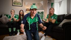 WATCH: Limerick family go 'GAA GAA' for hurling on the box