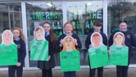 SLIDESHOW: Young Limerick fans with coveted places in Croke Park for All-Ireland Final