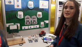 WATCH: Limerick students show off innovative 'Farm Hand' safety product at BT Young Scientist Exhibition