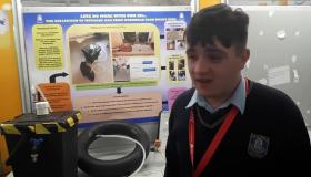 WATCH: Limerick lads design gas-collecting bin that can produce electricity at BT Young Scientist Exhibition