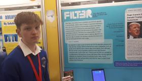 WATCH: Limerick student comes up with genius way to fight fake news at BT Young Scientist Exhibition