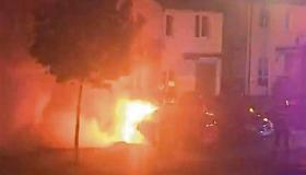 WATCH: Fire crews tackle motorbike fire in Limerick housing estate