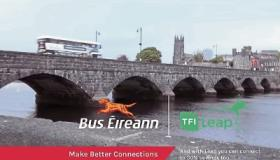 WATCH: Limerick students help make bus advert in city