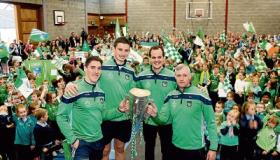 WATCH: Heroes welcome for Limerick stars Liam MacCarthy arrives in Milford NS