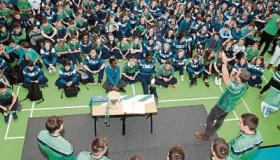 The All Ireland Champions and former pupils bring the Liam McCarthy to Castletroy College Picture: Keith Wiseman