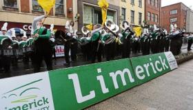 WATCH: Limerick dances to the beat of 20 marching bands