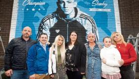 WATCH: Emotional scenes in Limerick as mural to slain Kevin Sheehy unveiled