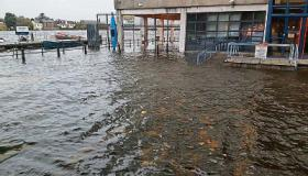 Limerick City and County Council tweeted this picture of flooding at Sarsfield House