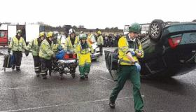 WATCH: Emergency services in road safety appeal to Limerick students