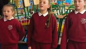 WATCH: Limerick primary school's rousing rendition of 'Rise Up' goes viral