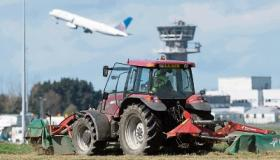 Limerick farmers caught in a fodder crisis were delighted to get fresh grass from Shannon Airport this week to feed their cattle  Picture: Eamon Ward