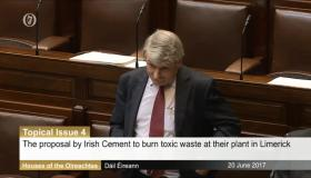 Willie O'Dea raised the topic in the Dáil this week