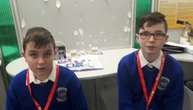 WATCH: Limerick lads look at effects of vaping on the body at Young Scientist