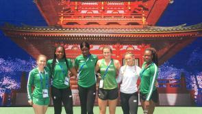 Limerick's Ciara Neville powers Irish relay team to terrific run in Japan