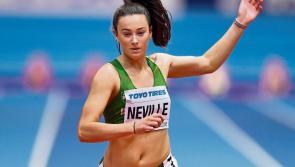 Limerick's Ciara Neville on Ireland team for European Indoor Championships