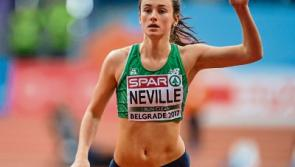 Limerick athleteCiara Neville competes at IAAF World Indoor Championships