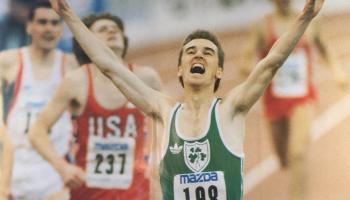 Limerick's Sporting Moments: Frank O'Mara wins the 1987 3000m World Indoor title