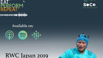 LISTEN: Sleep, Eat, Perform, Repeat - Episode 30 with Fineen Wycherley - 2ndof RWC 2019 Series