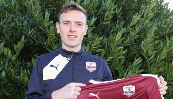 Newcastle West soccer ace signs new contract with Galway United