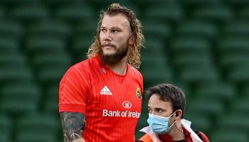 Munster Rugby issue positive injury update on RG Snyman