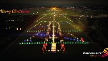 Christmas season gets underway at Shannon Airport