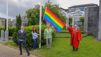 Mayor shows his support for Limerick Pride 2021