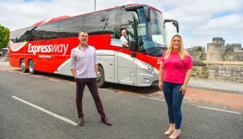 Bus Éireann upgrades Expressway fleet with new coaches in Limerick