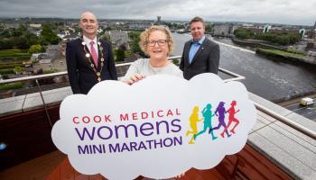 WATCH: Countdown begins to Limerick Women's Mini Marathon as Cook Medical extends sponsorship