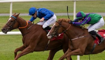 Ballingarry jockey Billy Lee in top form on the track