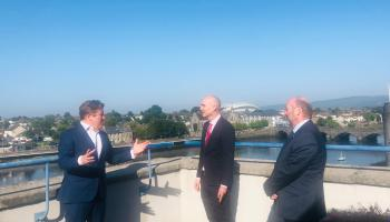 WATCH: Housing Minister visits projects in Limerick
